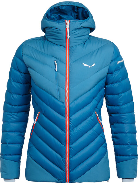 Salewa Ortles Medium 2 Down Jacket Women blue sapphire/blue fog